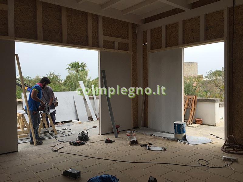 Ampliamento in Villa Residenziale taurisano lecce