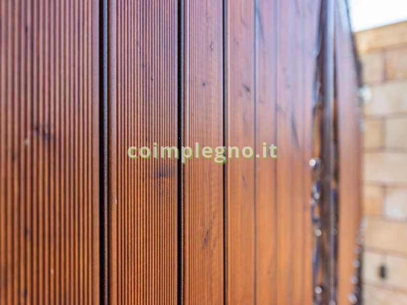 Ringhiera legno metallo Lecce Leuca 2