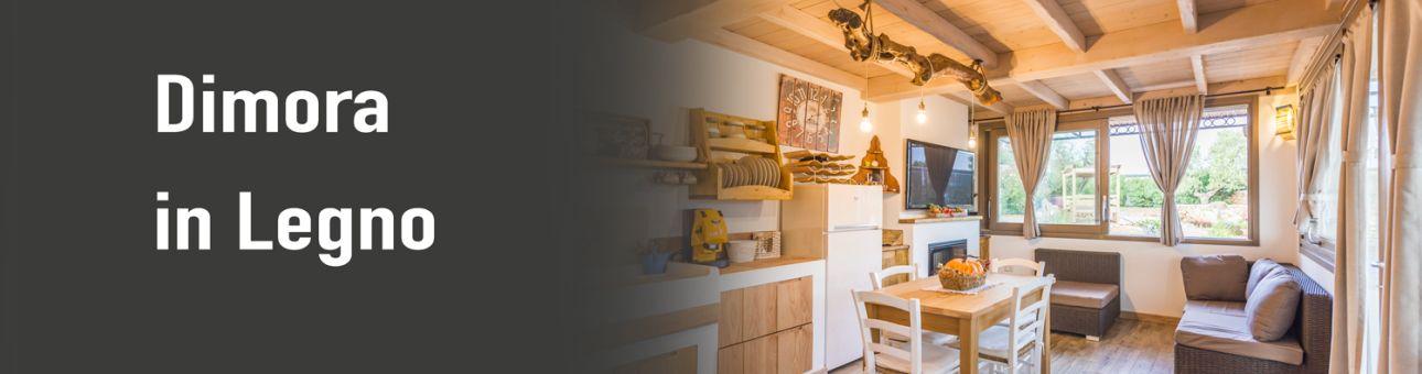 Dimora in legno Lecce Salento trullo legno