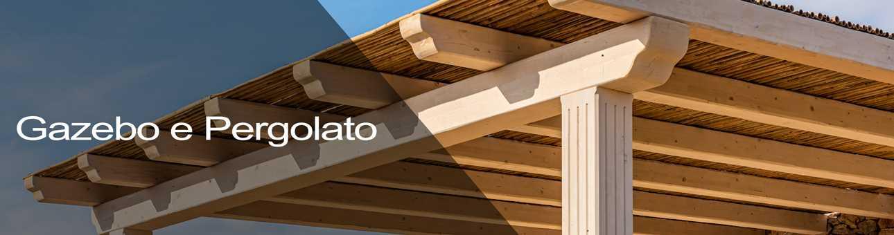 case coperture tetti gazebo legno galatina