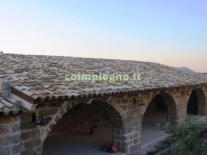 Masseria con tetti in legno gallipoli lecce 1