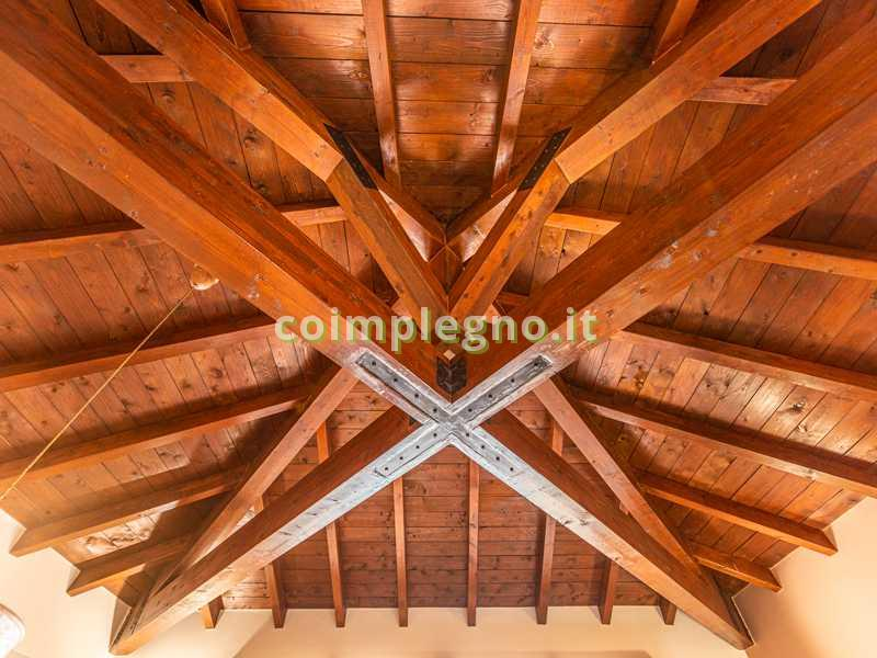 tetto rustico capriate galatina parabita