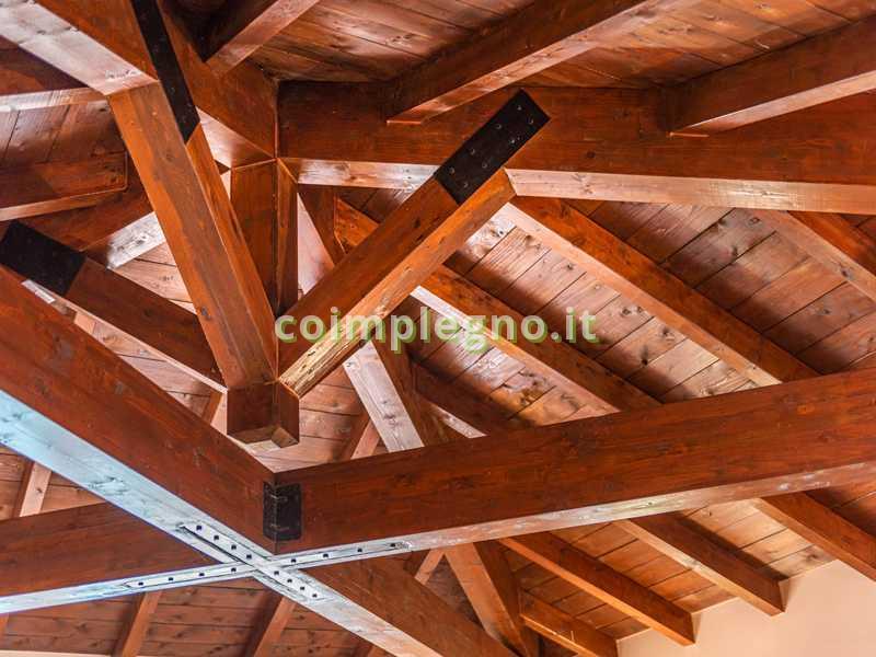 tetto rustico capriate lecce casarano 2
