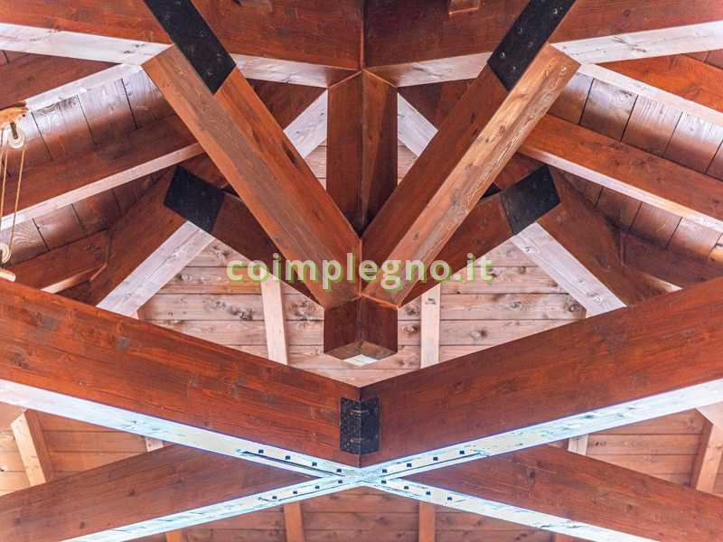 tetto rustico capriate tricase leuca 2
